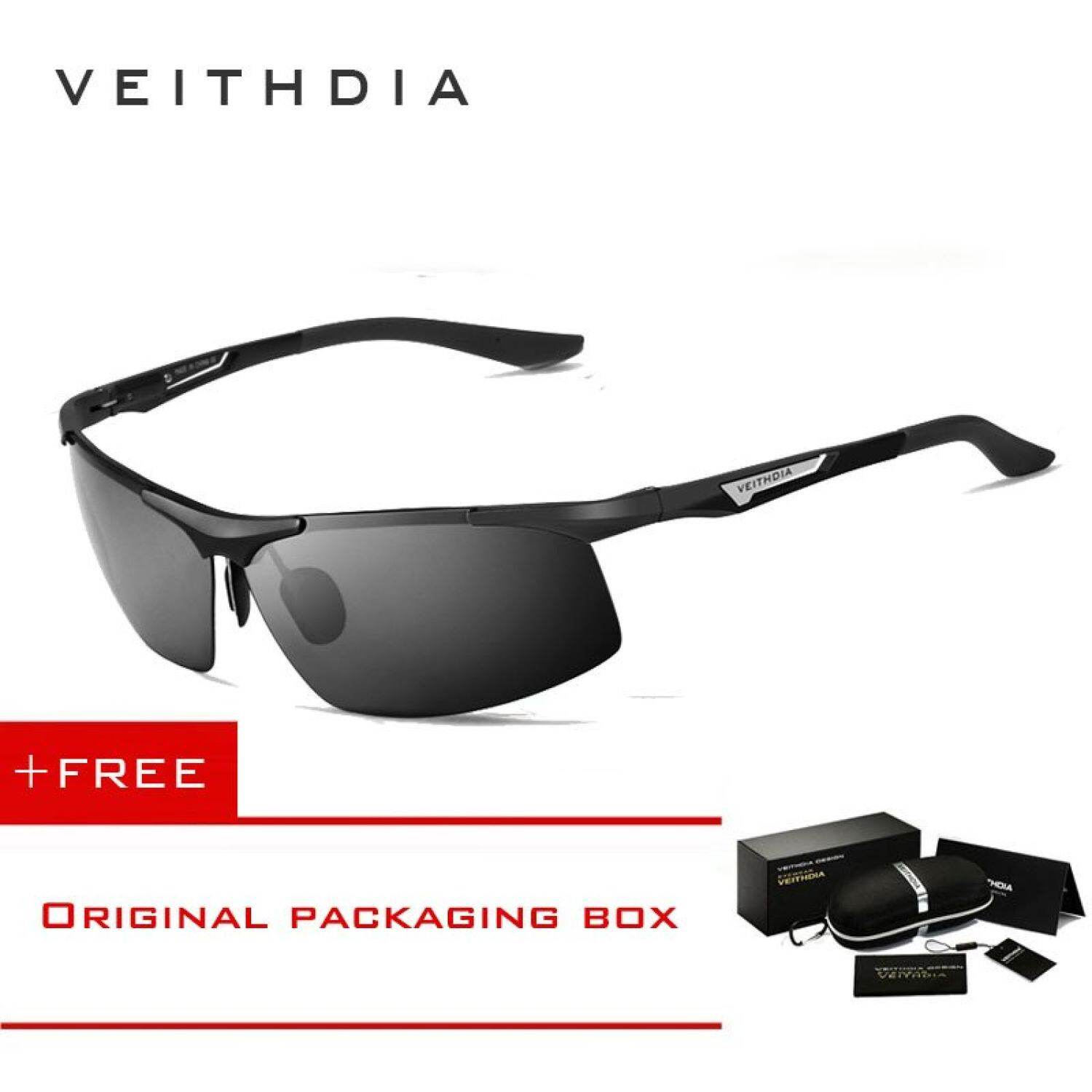 019da04c5f VEITHDIA Aluminum Magnesium Men s Sunglasses Polarized Men Coating Mirror Glasses  Eyewear Accessories For Men 6562 -