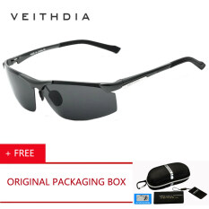 bff2c8af93 VEITHDIA Brand Aluminum Magnesium Sunglasses Polarized Men Coating Mirror  Driving Sun Glasses oculos Male Eyewear 6511