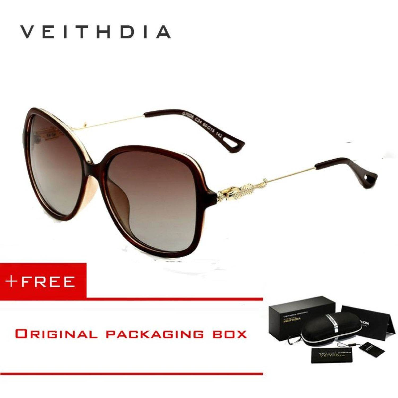 cf0cfa9b0 VEITHDIA TR90 Women's Sunglasses Polarized Ladies Designer Sunglasses  Eyewear Accessories 7026 By Yuxin Mall