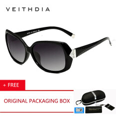 2360e8d600 VEITHDIA Original Brand Logo Designer Driving Women HD Polarized Sunglasses  Glasses Eyewear Carving Diamond Accessories 7011