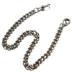 Vintage Bronze Silver Alloy Quartz Fob Albert Pocket Watch Parts Holder Chain Malaysia