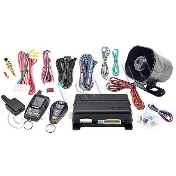 Viper 5305 V 2 Cara LCD Vehicle Mobil Alarm Tanpa Kunci Masuk Remorte Mulai Sistem-Internasional
