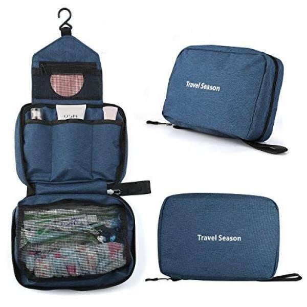 Vivefox Hanging Toiletry Bag Travel Kit Bathroom Bag Cosmetic Makeup  Organizer Shaving Kit for Men   ec7c67488162e