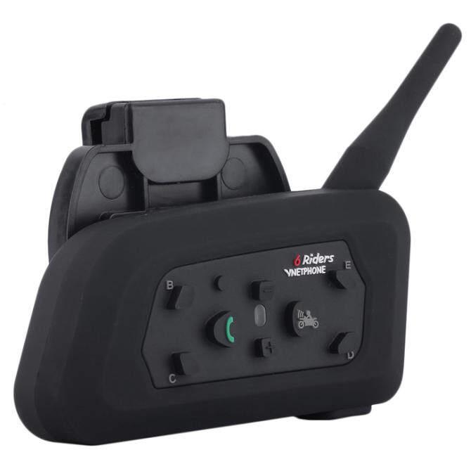 VNETPHONE V6 1200m Bluetooth Intercom for Motorcycle Helmet Headset Interphone - intl