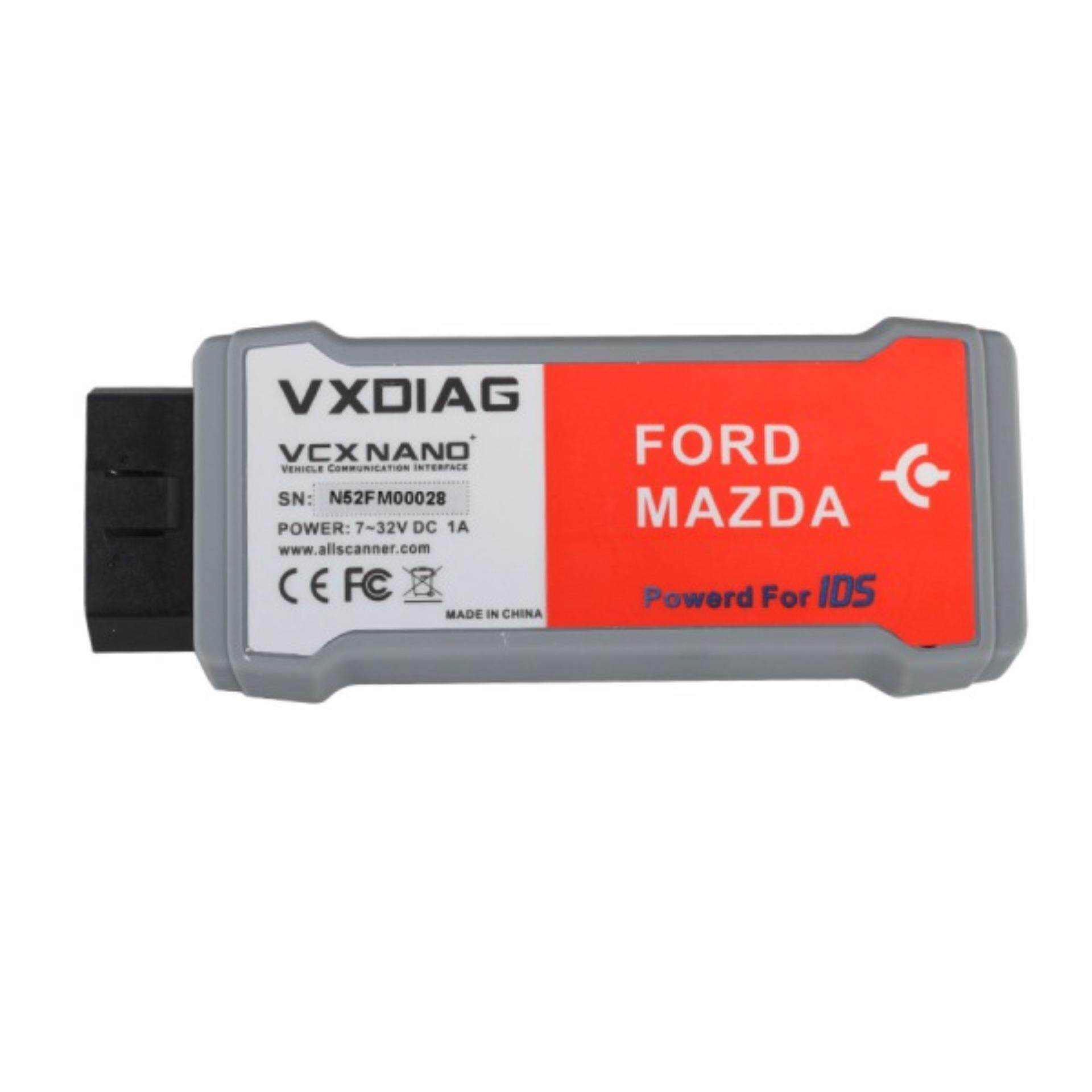 VXDIAG VCX NANO for Ford/Mazda 2 in 1 with IDS