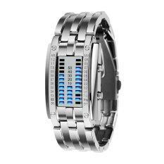 Watch 0926 Women Fashion Creative Watches Digital LED Display 30M Waterproof Lovers Wristwatches Malaysia