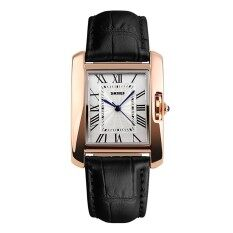 SKMEI Watch 1085 Women Fashion Quartz Watches  Casual Leather Strap Analog Lady Dress Wristwatches New 1085 Malaysia