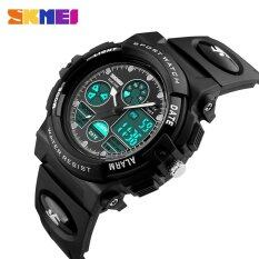 Watch 1163 Kids Sports Watches Children For Boys Waterproof Military Dual Display Wristwatches LED Waterproof Watch Malaysia