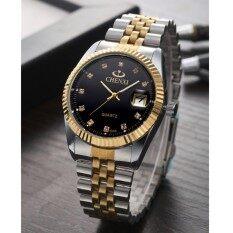 Watch couple Watch CHENXI brand male watch waterproof men and women Quartz Watch 004A between gold Malaysia