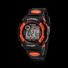 Waterproof Cool Mens Boys LED Quartz Alarm Date Sports Wrist Watch D Malaysia