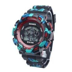 Waterproof Cool Mens Boys LED Quartz Alarm Date Sports Wrist Watch RD Malaysia