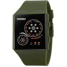 Waterproof LED WATCHES Wanita Arloji Otomatis Watch Datejust Ladies Clock Kualitas Terbaik Merek Tentara Militer Jam