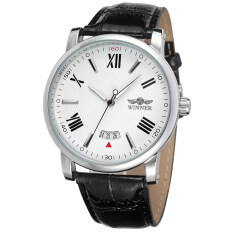 Winner Men Mechanical Automatic Dress Watch with Gift Box WRG8051M3S9 (White) Malaysia