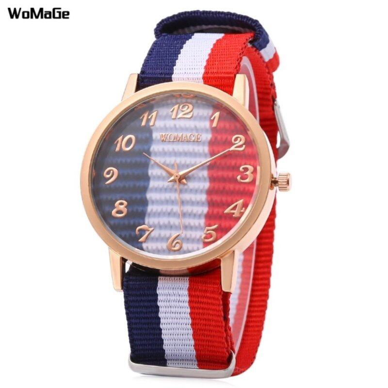 Womage 1186 Nylon Watch(random) Malaysia