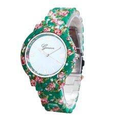 Women Band Analog Quartz Business Wrist Watch Green Malaysia