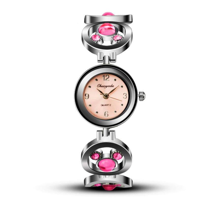 Women bracelet Watch Cartoon Mickey Stainless Steel Strap Watch Clock Ladies Female fashion quartz relojes mujer cute wirstwatch Malaysia