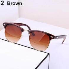 70ad9ecfdc6d Women s Men s Rivet Oversized Sunglasses Outdoor Driving Glasses Eyewear ...