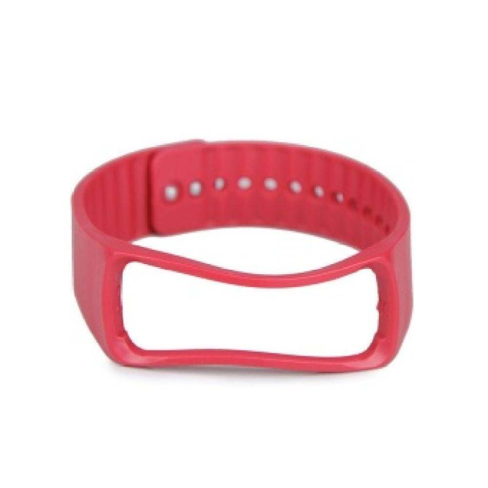 Wsj Replacement Watch Wrist Strap Wristband Red Galaxy Samsung Gearfit For.