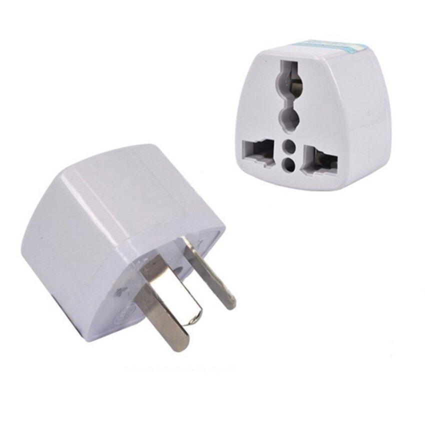 HUADE 5Pcs High Quality Universal Power Adapter Travel Adaptor 3 Pin Auconverter Us/Uk/Eu To Au Plug Charger For Australia New Zealand