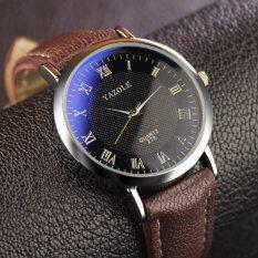 YAZOLE Brand Watch Leather Men Watches Quartz Wristwatches Male Quartz-watch YZL278H-A-Brown Malaysia