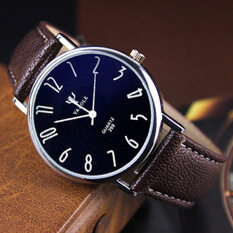 YAZOLE Brand Watch Leather Men Watches Quartz Wristwatches Male Quartz-watch YZL299H-A-Brown Malaysia