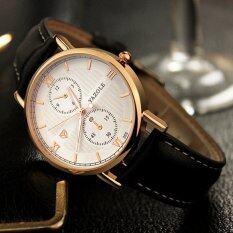 YAZOLE Brand Watch Leather Men Watches Quartz Wristwatches Male Quartz-watch YZL355-Black Malaysia