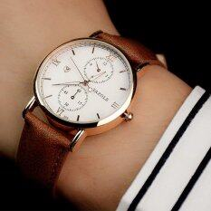 YAZOLE Brand Watch Leather Men Watches Quartz Wristwatches Male Quartz-watch YZL355-Brown Malaysia