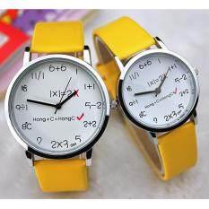YAZOLE Classical Women Leather Band Fashion Joker Caulse Quartz Wrist Watch YZL094-AB-Yellow Malaysia