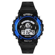 YBC Boy Digital LED Quartz Watch Waterproof Alarm Date Sports Wristwatch Malaysia