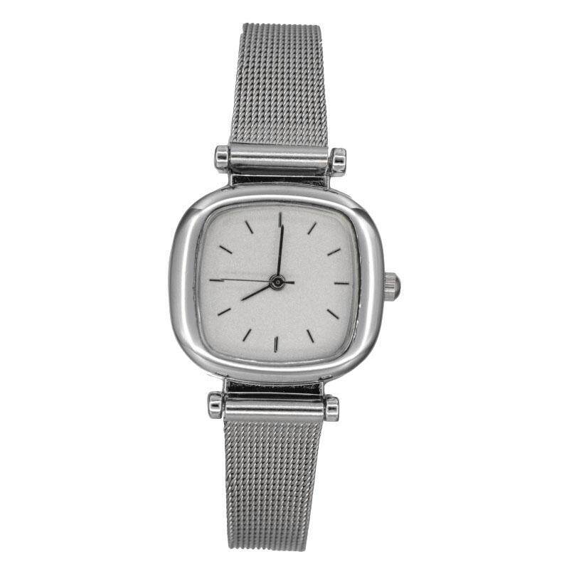 YBC Fashion Men Quartz Watch Mesh belt Band Square Casual Wrist Watch Malaysia