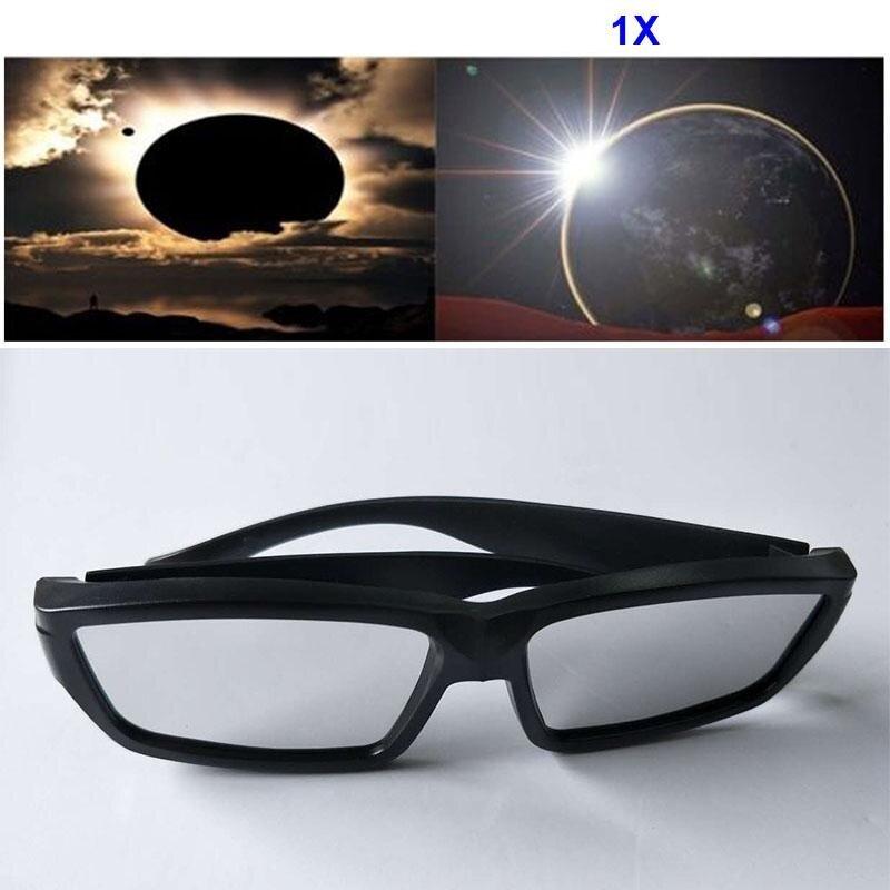 YBC Fashion Solar Eclipse Glasses Plastic Viewing Protect Eyes Sunglass
