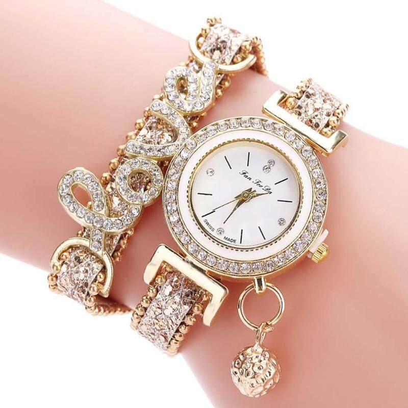 YBC Fashion Women Watch Multi-layer Bracelet Quartz Wristwatch Malaysia