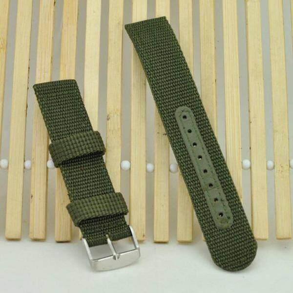 YBC Men 18mm Nylon Mesh Watch Strap Simple Sport Watch Watchbands Malaysia