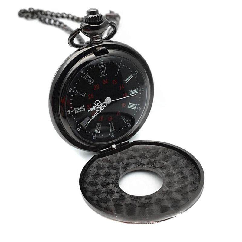 YBC Vintage Men And Women Quartz Pocket Watch With Chain Roman Number Unisex Necklace Malaysia