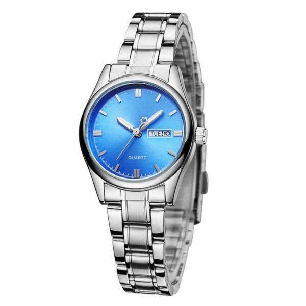 YBC Women Stainless Steel Strap Watch Waterproof Date Quartz Wristwatch Gifts Malaysia