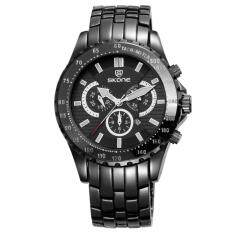 yiokmty SKONE Calender Display Watches Men Vogue Office Wrist watch for Men Leisure Sports Mens Quartz-watch 2016 Erkek Kol Saati (BlackGray)