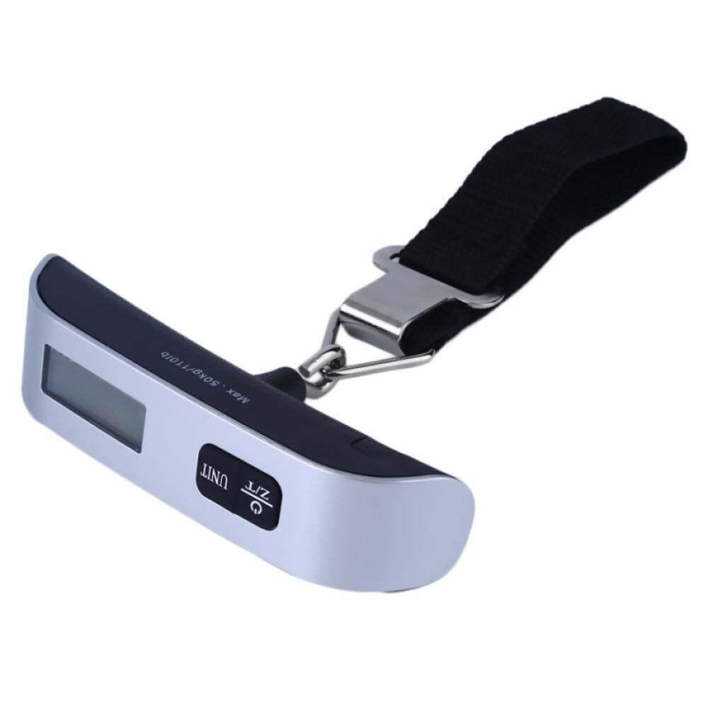 Yslmy Era 50Kg/10G T Berbentuk Lampu Latar LCD Tas Gantung Digital Skala Perjalanan Berat