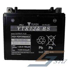Yuasa Battery Motorcycle Size Ytx12a-Bs By Se Sia Auto Parts Motorcycle.