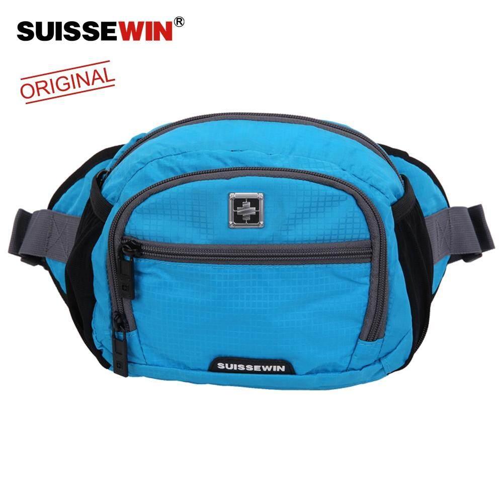Suissewin Shoulder Messenger Bags Men Travel  Crossbody Riding messenger bag