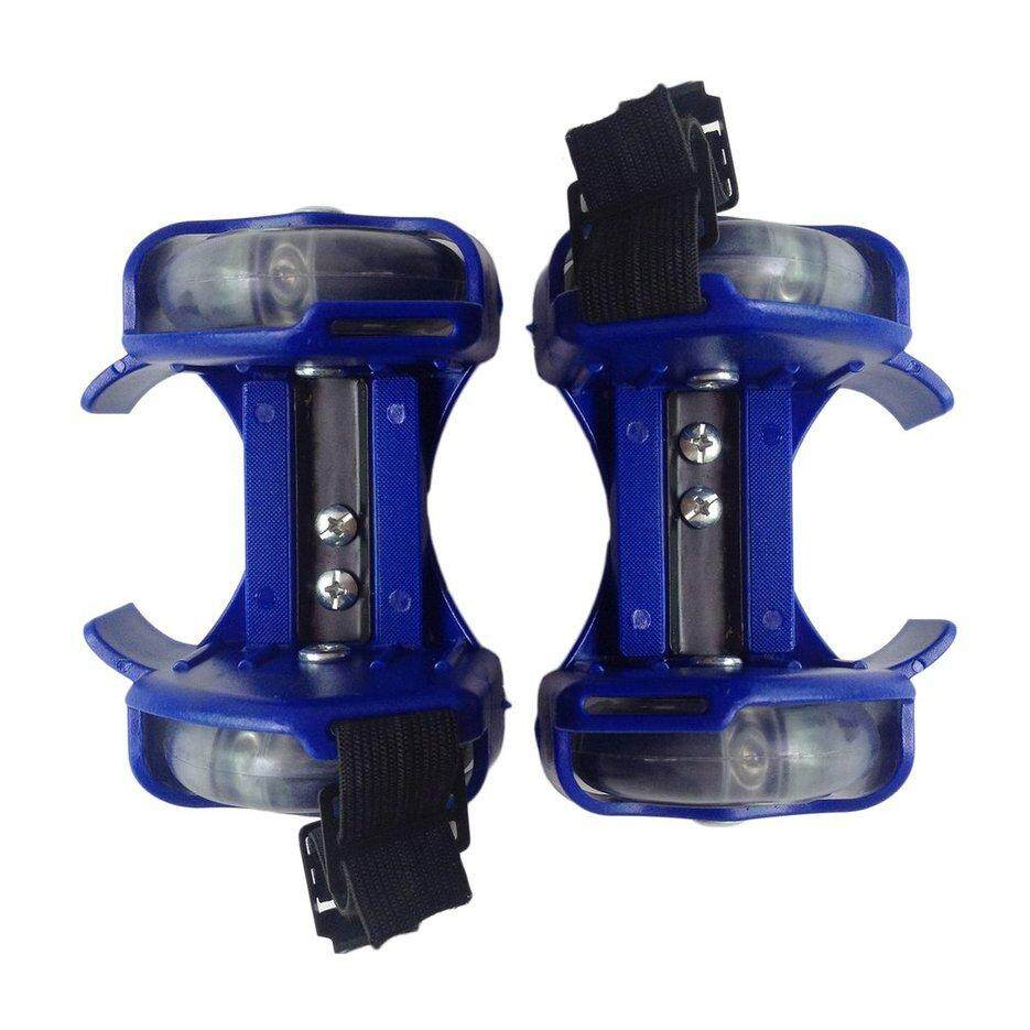 [promotion] 3-Color Light Small Whirlwind Pulley Adjustable Flash Wheel Roller Skating Shoes By Kakagardener.