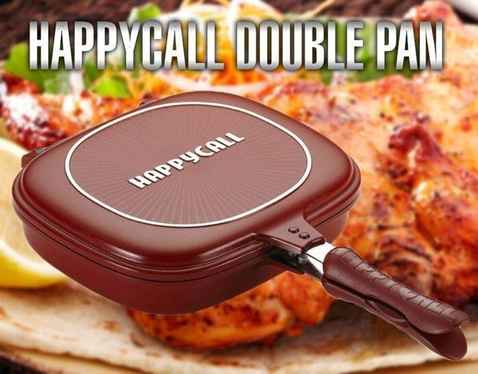 【ready Stock- 32cm】happy Call Deep Duplex Pan 3 Oven Effect Double Sided Pan Non-Stick Made In Korea Kitchen Cook Cook Ware Kitchen & Dining By 388 Homemart.