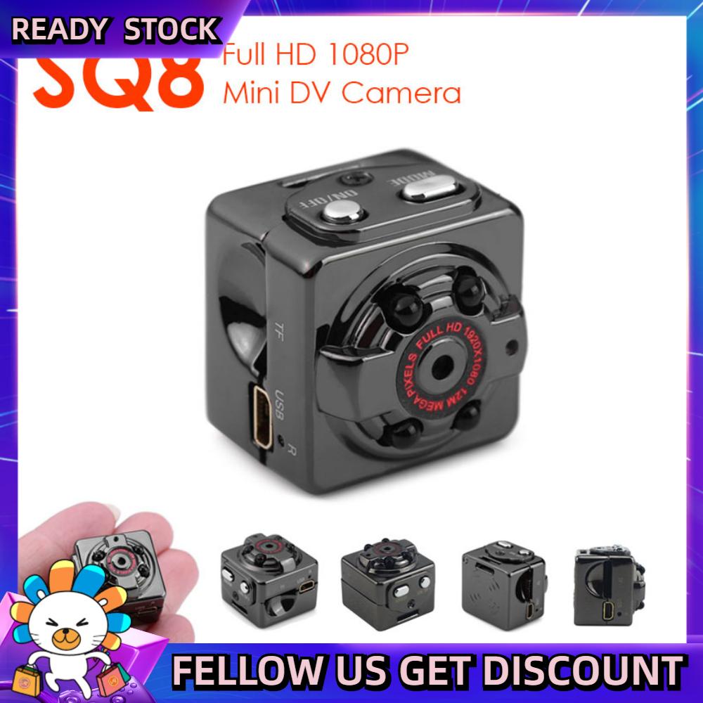 Lushuo SQ8 thông minh 1080P HD Micro Mini camera video cam tầm nhìn ban đêm cơ thể không dây DVR DV nhỏ minicamera microchamber 016