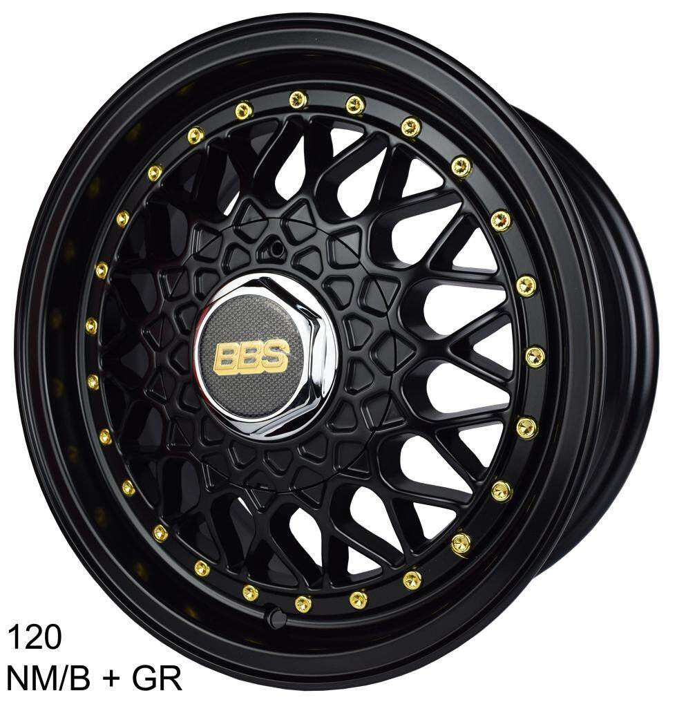 120 14 Sports Rim 12h100/110/114.3 Nm/b+gr By Race Tec.