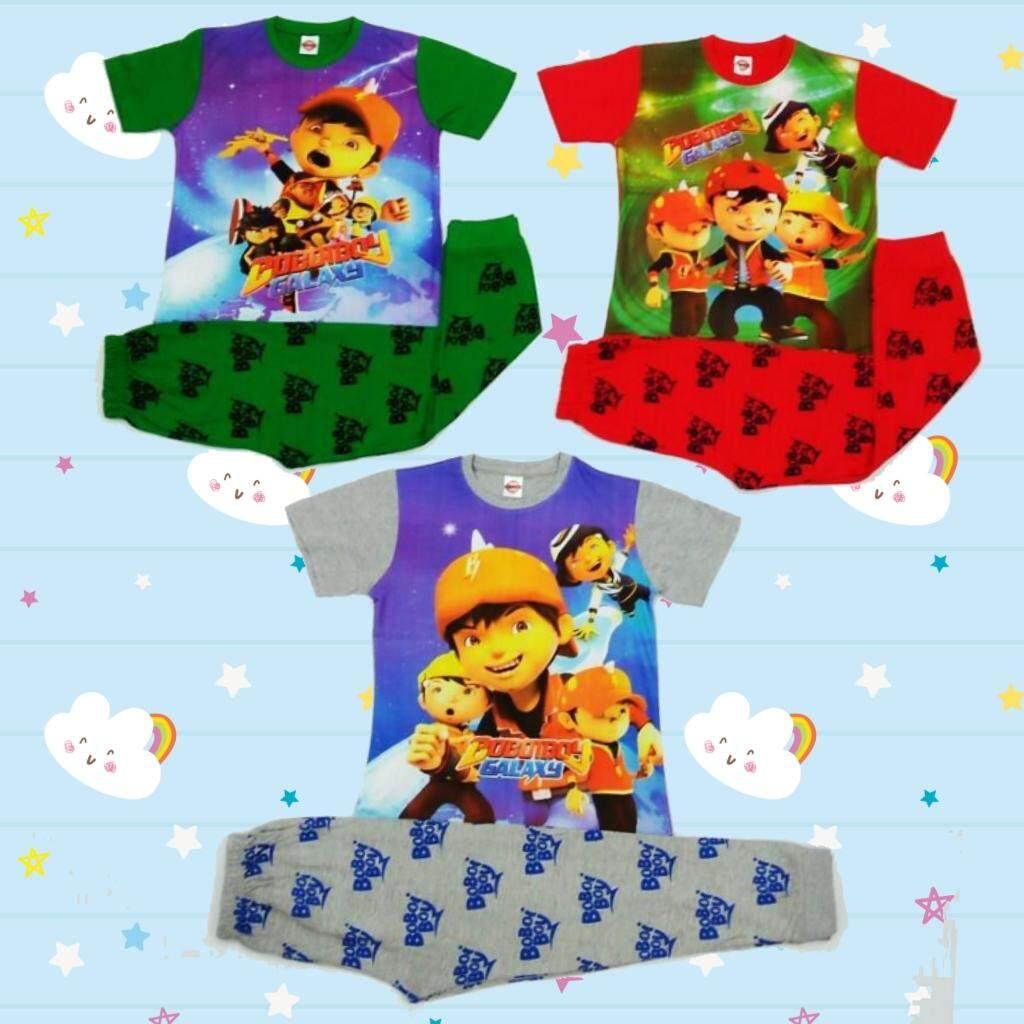 Boboiboy Pyjamas Boy Clothing Sleeping Wear Set By 3a-Kids Fashion Store.