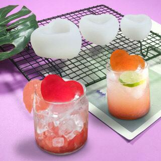 Houseeker Khuôn Silicon Hình Trái Tim 3d, Dụng Cụ Trang Trí Bánh Cưới Ice Cube Nhà Sản Xuất Khuôn Bánh Mousse Kẹo Mềm Sô Cô La Xà Phòng Làm Công Cụ thumbnail