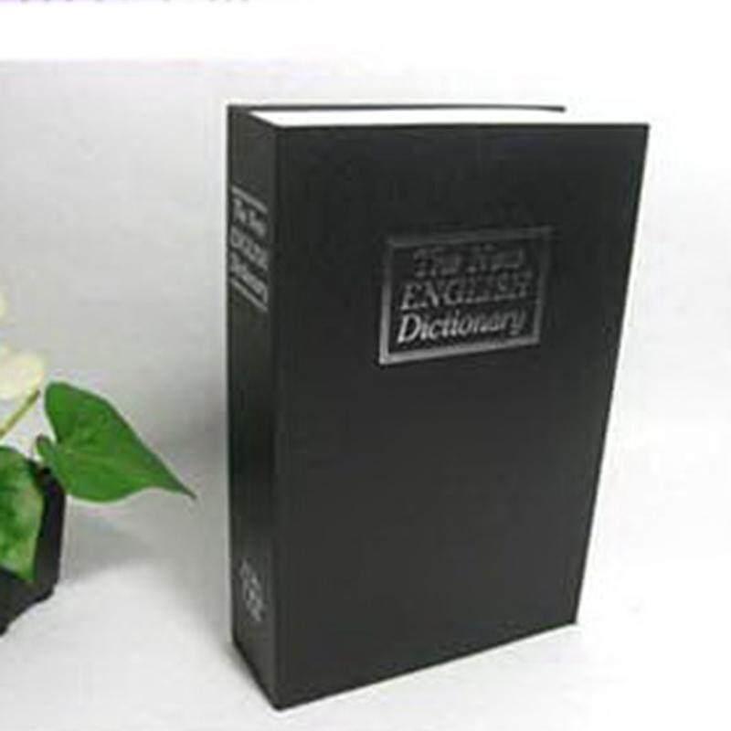 4 color Mini Home Security Dictionary Book Secret Safe Storage Key Lock Box  Cash +2 Keys