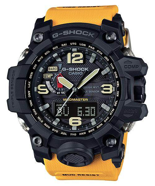 Casi0 G_shock_.gwg_1000_gb Dual Time Watch(mudmaster) For Mens Special Promotion By Time Garden.