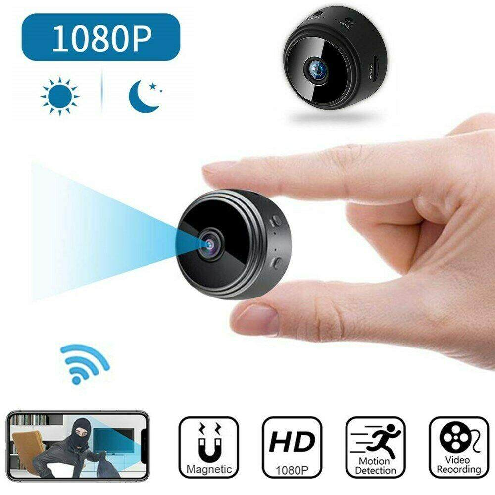 Mini Camera Wireless Wifi IP Security Camcorder HD 1080P Night Vision with 32G Memory Card