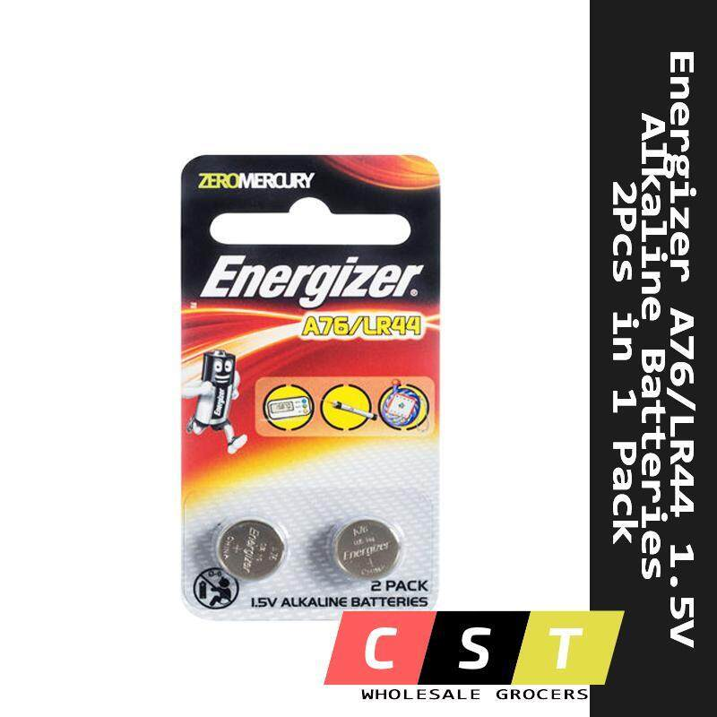 Energizer A76/LR44 1.5V Alkaline Batteries 2Pcs in 1 Pack Malaysia