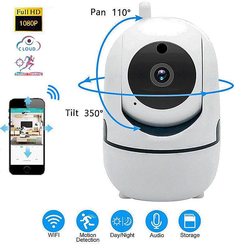 Full HD 1080P Cloud Wireless IP Camera Intelligent Auto Tracking Of Human  Home Security Surveillance CCTV Network Wifi Camera Baby Monitor